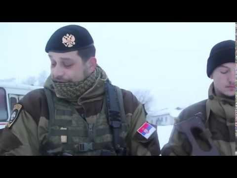 Serbian mercenaries fighting for the New Russia. Ukraine hot news [ in russian]