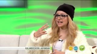 Patai Annára karrier vár Japánban? - 2016.01.07. - fem3.hu/fem3cafe