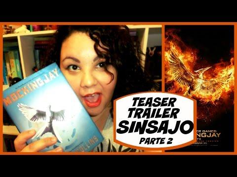 Reacción al Teaser Trailer de Sinsajo Parte 2 | Los Libros de Viry