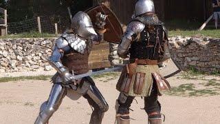 Video Montbazon - Forteresse du Faucon Noir - Combat en armure (27/07/2014) download MP3, 3GP, MP4, WEBM, AVI, FLV Mei 2018