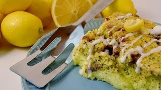 Lemon Coffee Cake Recipe | Radacutlery.com