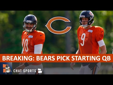 BREAKING: Mitchell Trubisky Named Chicago Bears' Starting Quarterback Over Nick Foles