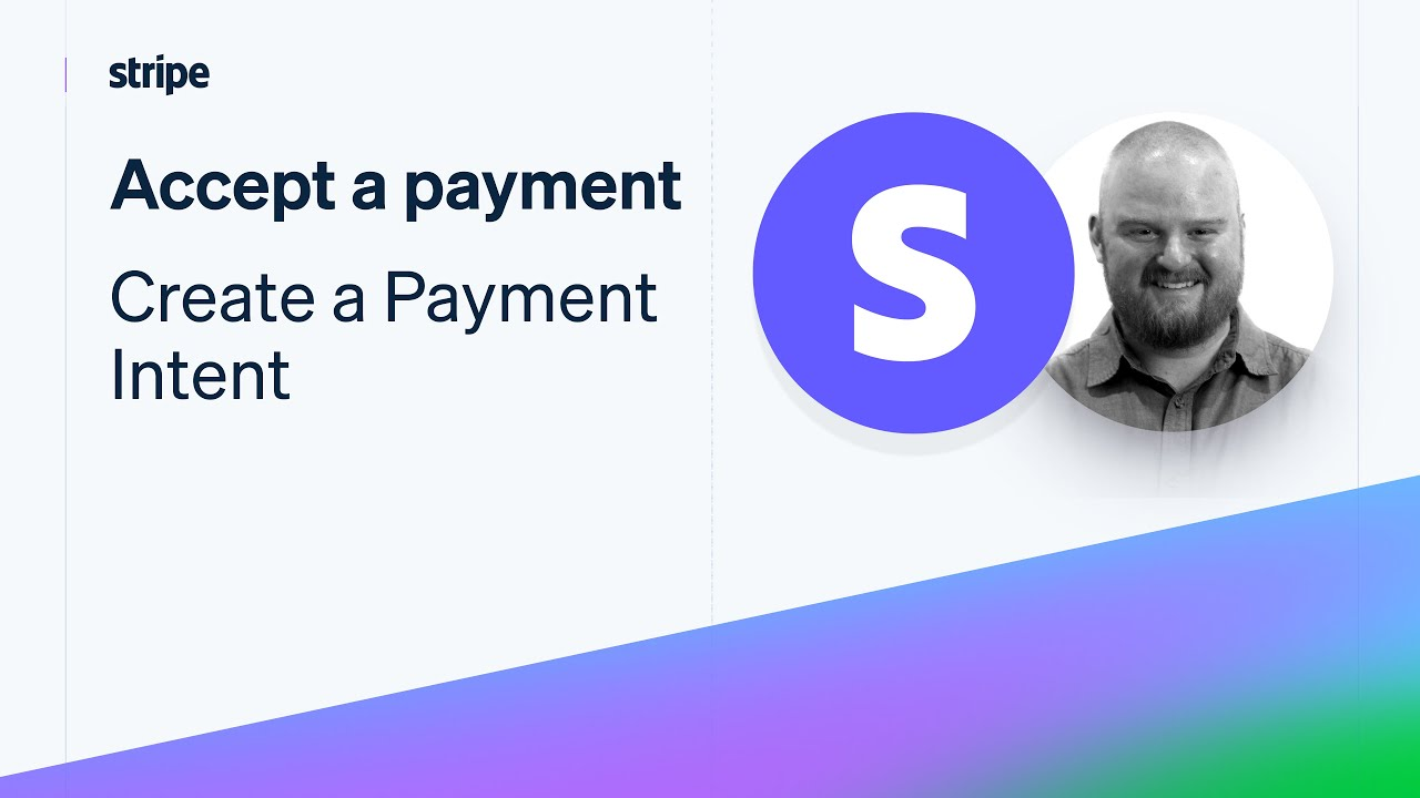 Accept a payment - Create a PaymentIntent with Node.js