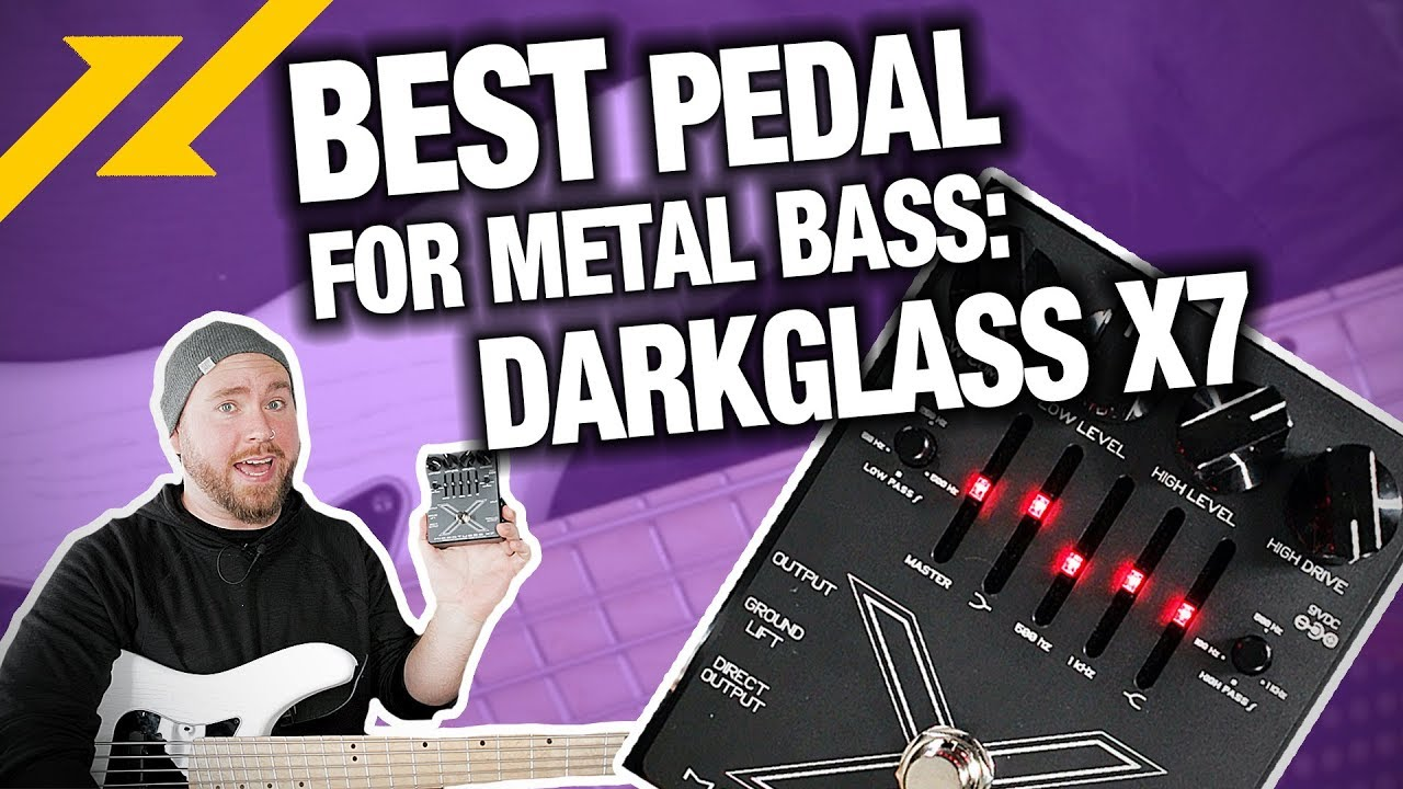 Darkglass Microtubes X7 Bass Distortion Pedal