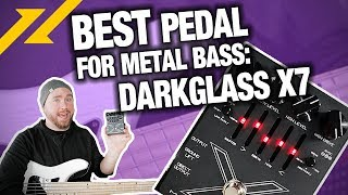 DARKGLASS Microtubes X7 Multiband Distortion Pedal Review/Demo | GEAR GODS