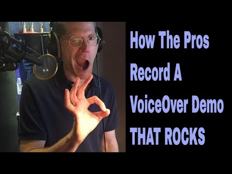 Recording A Commercial Voiceover Demo with Bob Bergen