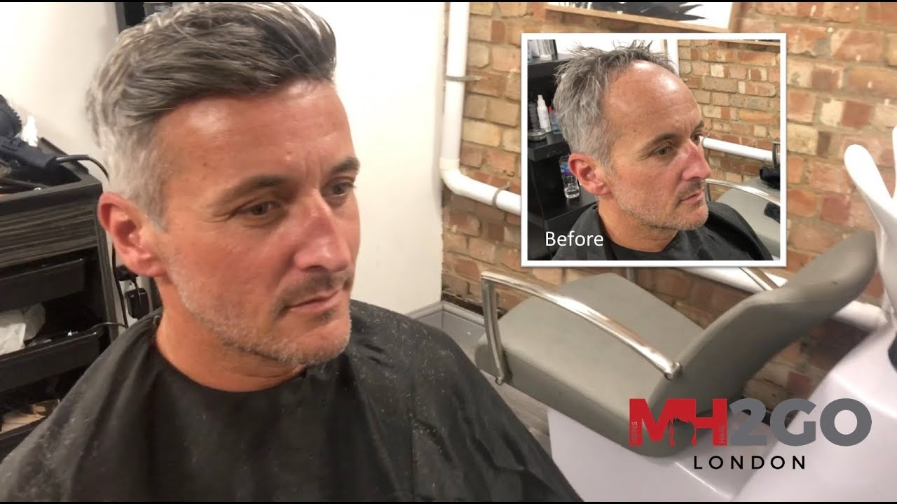 Hair Replacement FITTING VIDEO (Alec) – Hair