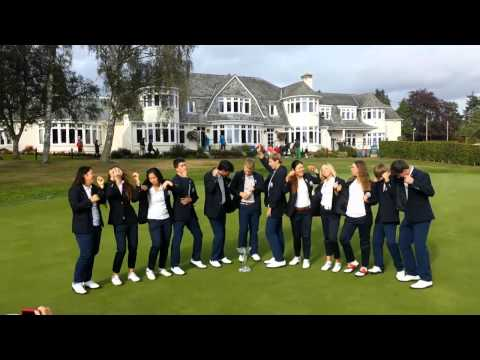 United States Junior Ryder Cup Victory Dance 2014