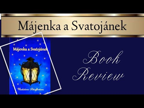 Májenka a Svatojánek | Colouring Book Review