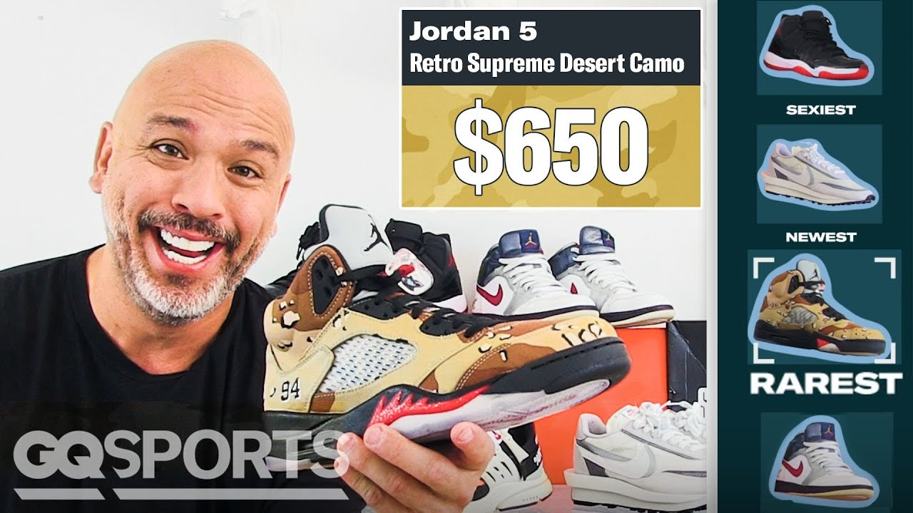 Jo Koy Shows Off His Favorite Sneakers, From Rarest to Oldest | GQ Sports