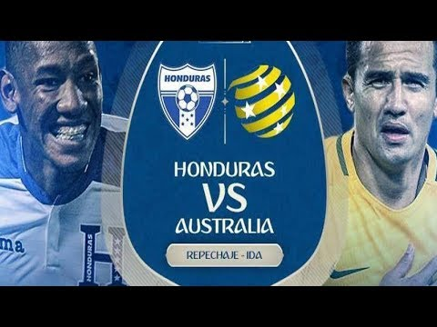 HONDURAS vs AUSTRALIA en VIVO HD (mejor señal) REPECHAJE 2017