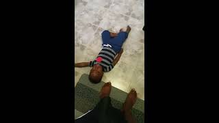 New Funny baby video. WATCH UNTIL THE END.brothers fighting over toys.