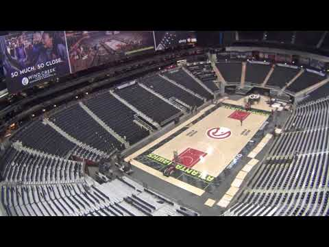 WATCH: Time-Lapse As Philips Arena Transforms For Six Events In Seven Days