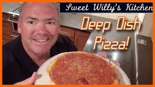 How to Make Chicago Style Deep Dish Pizza