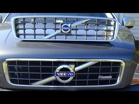 Volvo Accessory Grille Upgrade