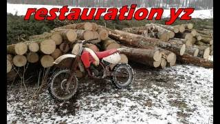 restauration 125 yz 1985