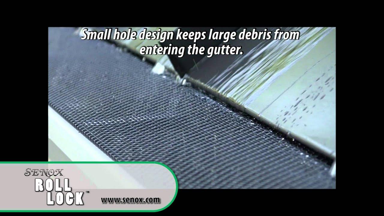 Senox Roll Lock Gutter Guard Youtube