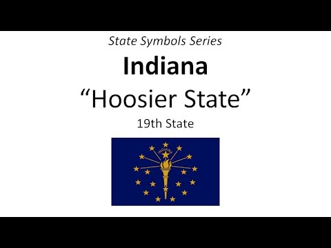 State Symbols Series - Indiana