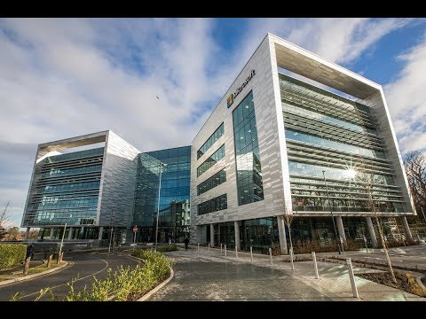 Microsoft's new €134m campus in Dublin, One Microsoft Place.