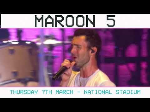 Maroon 5 Red Pill Blues Tour Live in Singapore