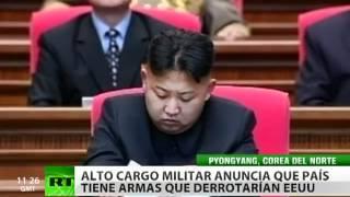 Corea del Norte proclama que tiene misiles para vencer a EE. UU.