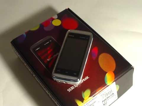 Внешний вид и комплектация Nokia 5530 XpressMusic