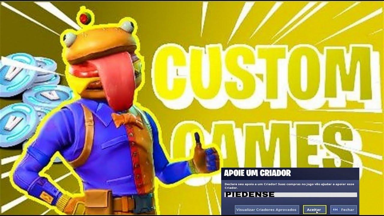 Fortnite Customs Pt Com Subs Youtube Ballersinfo Com