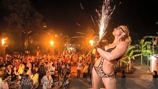 leopard valley club palolem south goa india jungle party DJ rave nightclub dance house music ГОА