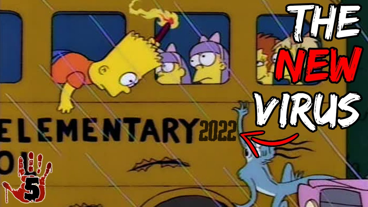 Top 5 Scary Simpsons Predictions For 2022