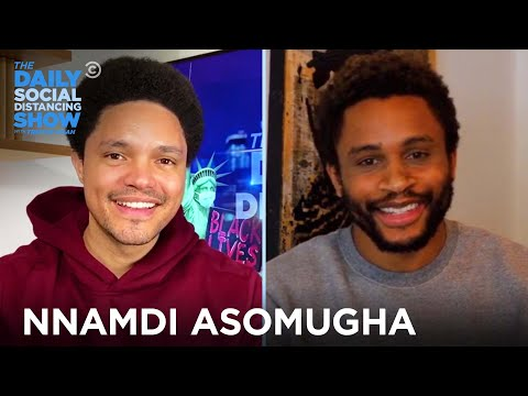 """Nnamdi Asomugha: """"Sylvie's Love"""" & Learning to Play the Saxophone   The Daily Social Distancing Show"""