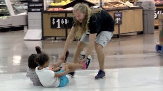 Dragging Random Kids Thru The Store