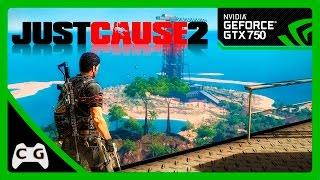 Just Cause 2 Gameplay GTX 750 Teste no Windows 10 #75