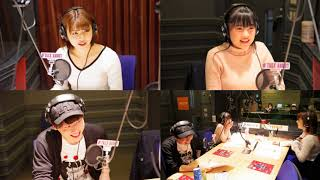 『TALK ABOUT』2018年4月28日放送より 出演:金澤朋子・梁川奈々美 MC:...