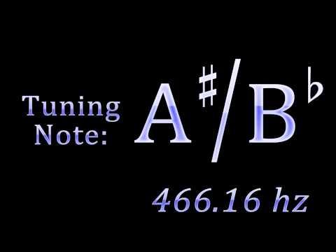 Tuning Note: A-sharp / B-flat