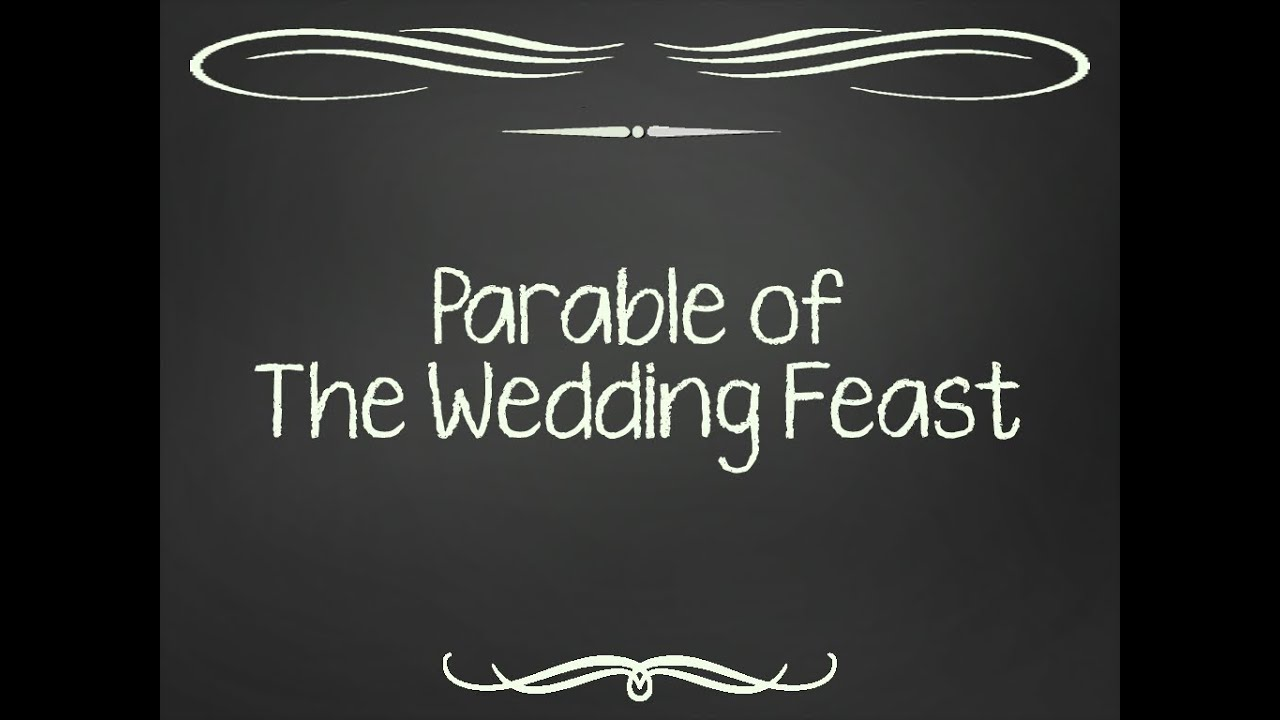 Image result for Parable of the Wedding Banquet