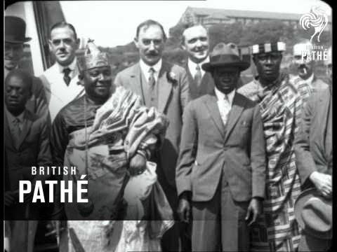 Visit Of Sir Ofori Atta (1928)