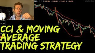 CCI Moving Average Forex Trading Strategy 〽️