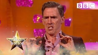 When Rob Bryon's voice dubbing went wrong… | The Graham Norton Show - BBC