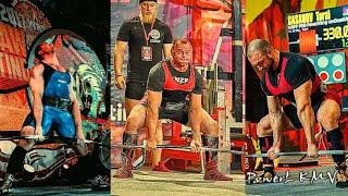Насонов Дмитрий Ступников Роман Гасанов Турал 82 5 кг Чемпионат мира 2020 г PRO WRPF становая тяга