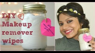 How to make DIY makeup remover wipes at home