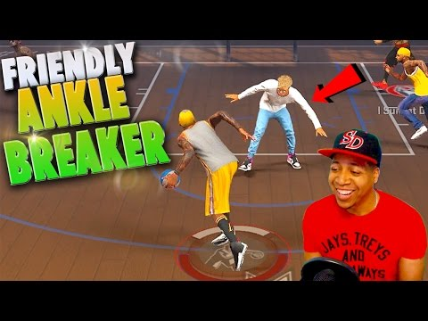My FRIENDS Get BROKE TOO! 😆 - NBA 2K17 MyPark 3v3