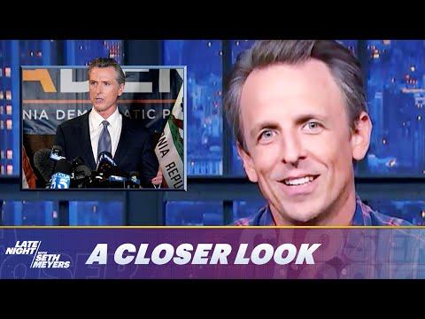 Trumpism Rejected in Major Landslide as Newsom Wins California Recall: A Closer Look