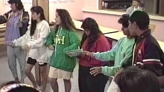 Learning the Maori folk song Nga Iwi e