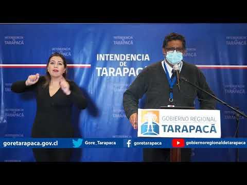 Punto de prensa 27 de julio de 2020 - Gobierno Regional de Tarapacá