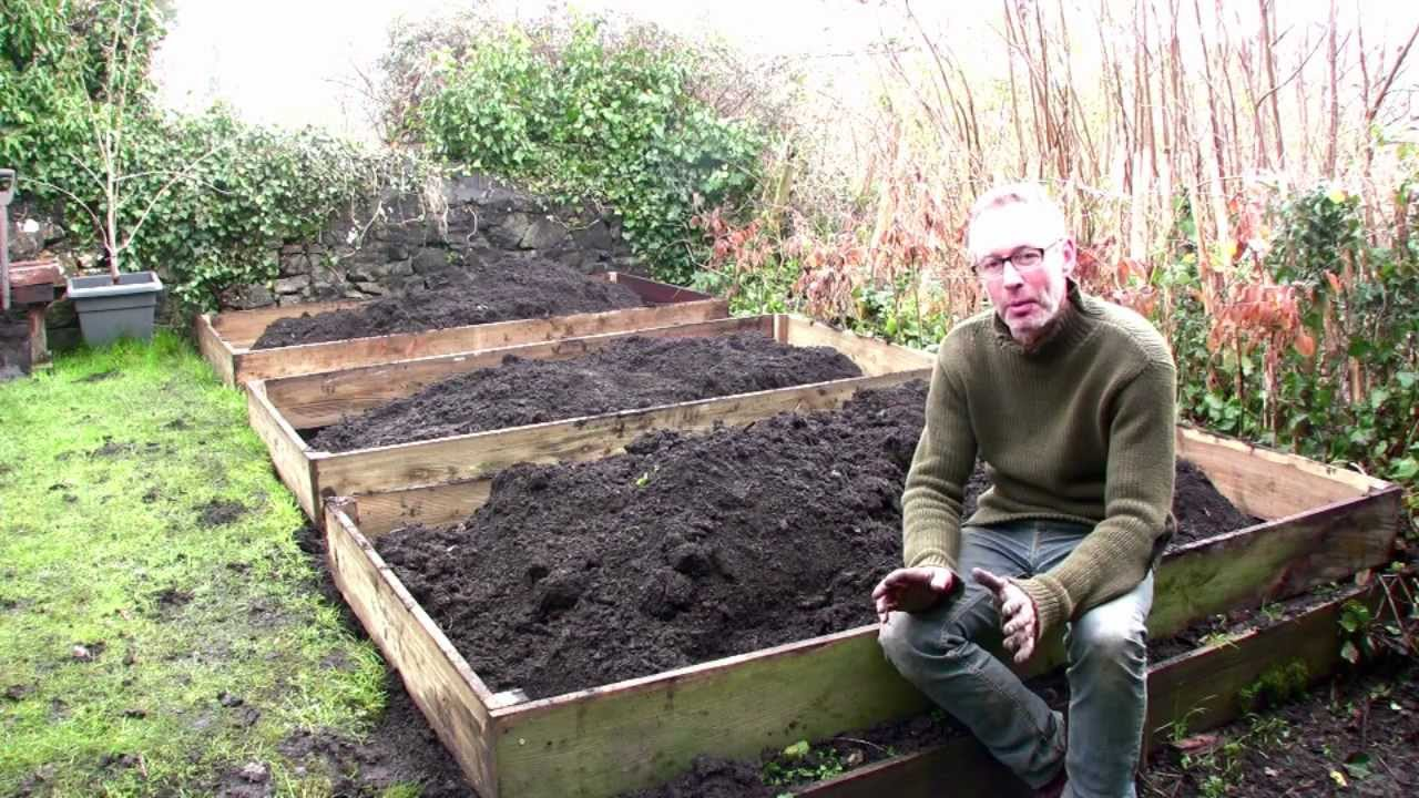 Cheapest Way To Make A Raised Garden Bed Part - 29: February On Peteru0027s Plot: The Easiest Way To Build Raised Beds - YouTube