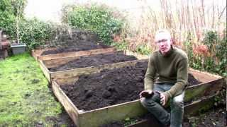 February On Peter's Plot: The Easiest Way To Build Raised Beds