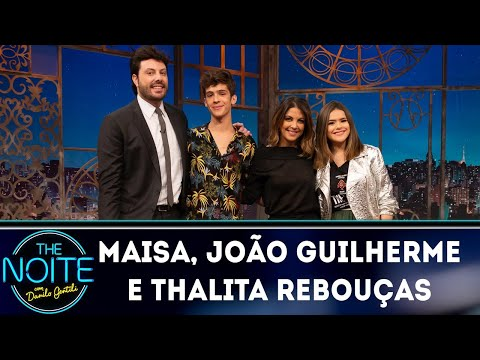 Entrevista com Maisa João Guilherme e Thalita Rebouças  The Noite 041018