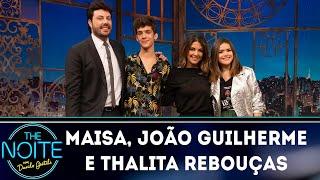 Baixar Entrevista com Maisa, João Guilherme e Thalita Rebouças | The Noite (04/10/18)