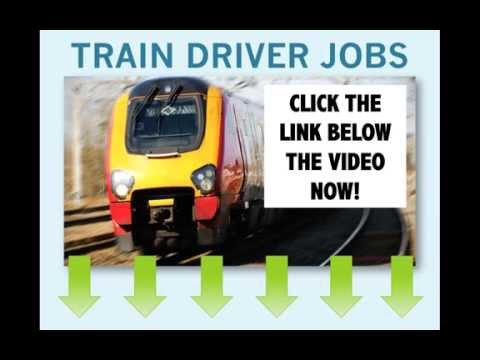Train Driver Jobs - How And Where To Apply
