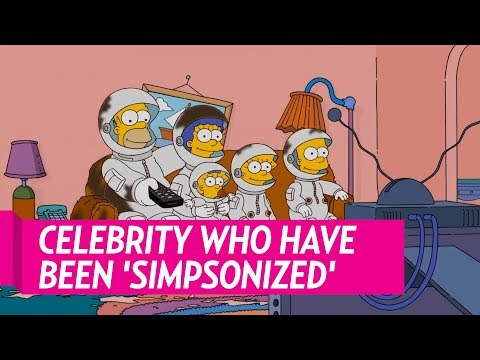 Celebrities Who Have Been 'Simpsonized'
